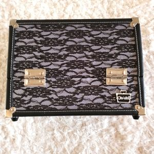 Caboodles Black Solid Cosmetic Travel Case